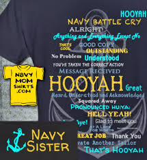 Navy Sister Hooyah Shirts Hoodies With Anchor Exclusive