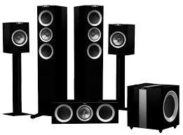 kef t305. kef r500 5.1 surround sound system kef t305