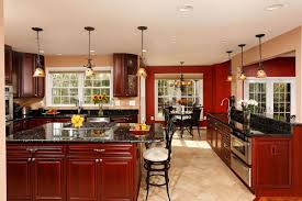 Open Floor Kitchen Holiday Tested Kitchen Centric Open Floor Plan Well Suited For