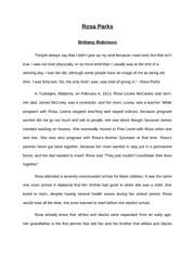 kwanzaa essay rough draft kwanzaa brittany robinson kwanzaa is 3 pages rosa parks essay
