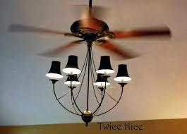 crystal ceiling fan light kit perfect ceiling fan with chandelier light beautiful