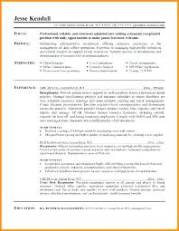 Resume Samples Receptionist Beauteous Resume Examples For Hair Salon Receptionist Combined With Resume For