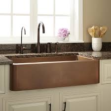 The Brilliant Along With Beautiful Copper Farmhouse Kitchen Sink