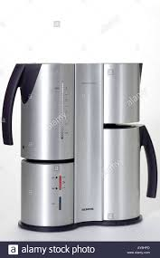 modern coffee maker stock photo royalty free image   alamy