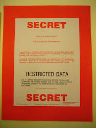 Classified Cover Sheets Then And Now Restricted Data