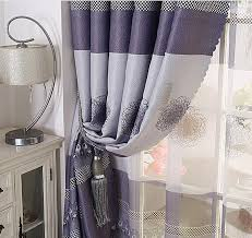 gray and purple shower curtain. classic grey and dark purple polyester blackout best bedroom curtains gray shower curtain