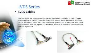 lvds cable & wire harness for lcd board, industrial machine Cable And Wire Harness categories \u003e lvds cable cable and wire harness inspection