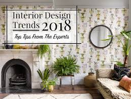 Wallpapered office home design Den Each New Year Delivers An Exciting Array Of Interior Design Trends To Be Incorporated Into The Home Whether It Be Home Accessories Or Particular Interior Amara Interior Design Trends 2018 Top Tips From The Experts The Luxpad