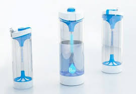 Image Camping Pure Water Bottle Image Treehugger Filtered Water In Minutes With New Uv Light Bottle Invention