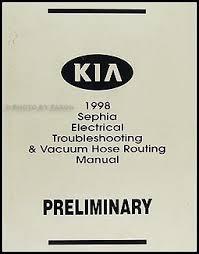 kia sephia wiring diagram kia wiring diagrams online description 1998 kia sephia electrical troubleshooting manual wiring diagram book original