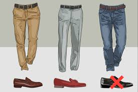 Matching Shoes Color With Pants Shoe Chart Fashion