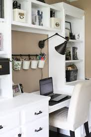 One Room Living Space Home Office Craft Room Reveal Home Office Space Craft Supply