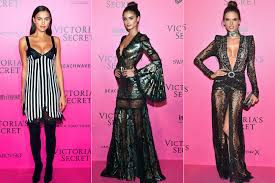 Victoria s Secret Angels Wear Sexy After Party Looks