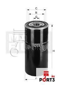 W 1150/7 <b>Масляный фильтр MANN</b>-FILTER (Манн) - описание ...