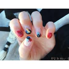 Nao さんのインスタグラム写真 Nao Instagram赤と紺とグレー