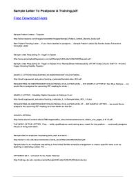 Volunteer Letter Samples 20 Printable Sample Letter Requesting Volunteer Work Forms