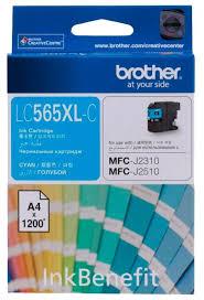 <b>Картридж Brother LC-565XLC</b> — купить по выгодной цене на ...