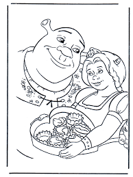 Small Picture Shrek Coloring Book Coloring Home