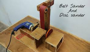 make a belt sander and disc sander machine diy
