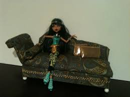 How to make furniture for Monster High Barbie dolls Fainting