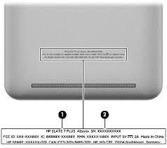 HP Slate7 Plus Tablet