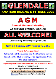 Glendale Amateur Boxing Fitness Club Agm Glendale Amateur Boxing