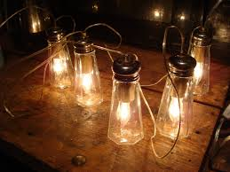 string light diy ideas cool home. Diy Lighting Wedding. Salt-shakers-lighting Wedding String Light Ideas Cool Home C