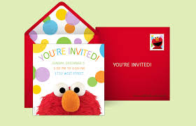 Birthday Invite Ecards Free Sesame Street Invitations Sesame Street Online Invitations