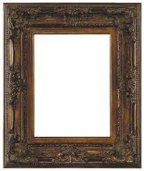 genoa french style dark antique gold frame
