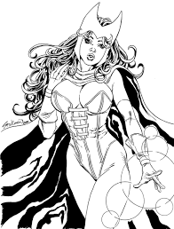 Small Picture Scarlet Witch Commission 1 by John Stinsman on DeviantArt