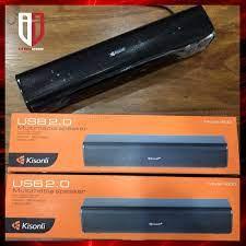 Loa Thanh Máy Vi Tính Để Bàn Chính Hãng KISONLI I-600 Loa Laptop Mini Có  Dây - Loa