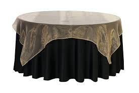 90 inches tablecloth inch square organza table overlays champagne for weddings round tablecloths