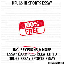 in sports essay drugs in sports essay