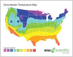 Underground Temperature Map 2019