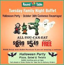 round table pizza fair oaks ca family night buffet celebrate early with 95628
