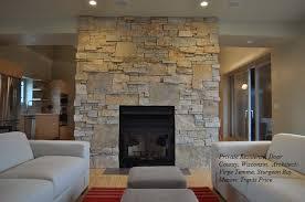 natural stone veneer fireplace caramel westgate