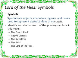 lord of the flies chapter notes ppt video online  lord of the flies symbols