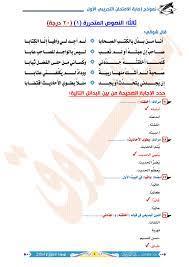 إجابات النماذج التجريبية لغة عربية ثانوية عامة نظام جديد 2021 | موقع مدرس  دوت كوم