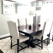 dining room rug round table kitchen rugs