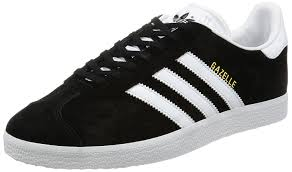 adidas shoes black and white. adidas unisex adults\u0027 gazelle low-top sneakers: amazon.co.uk: shoes \u0026 bags black and white m
