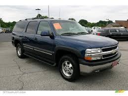 2002 Indigo Blue Metallic Chevrolet Suburban 1500 LT 4x4 #31585107 ...