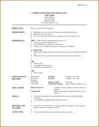 Hybrid Resume Template Word | Best Cover Letter Inside Hybrid Resume ...