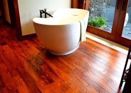 Hardwood Floor Bathroom Maui Wood Flooring Install Bones Wood Floors