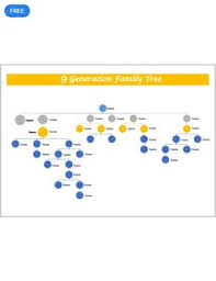 9 Generation Family Tree Template 58 Best Family Tree Templates Designs 2019 Images Family History