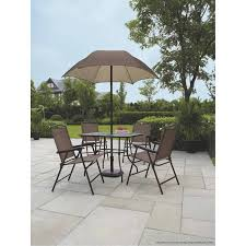 patio table with 6 chairs bcp 7 pc outdoor wicker bar dining patio set w gltable top 6