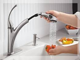 Kohler Brass Kitchen Faucet Kitchen Fresh Kitchen Sink Faucets Pertaining To Home Depot
