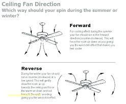 ceiling fan direction winter reverse in