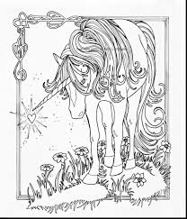 Coloring Page Unicorn Coloring Pages For Adults Page Kawaii Free