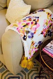 sewing 101 how to make a cozy faux fur throw blanket for fall