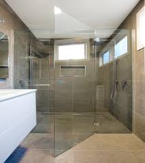 breeze frameless shower screen 6mm glass shower screen door aireys inlet